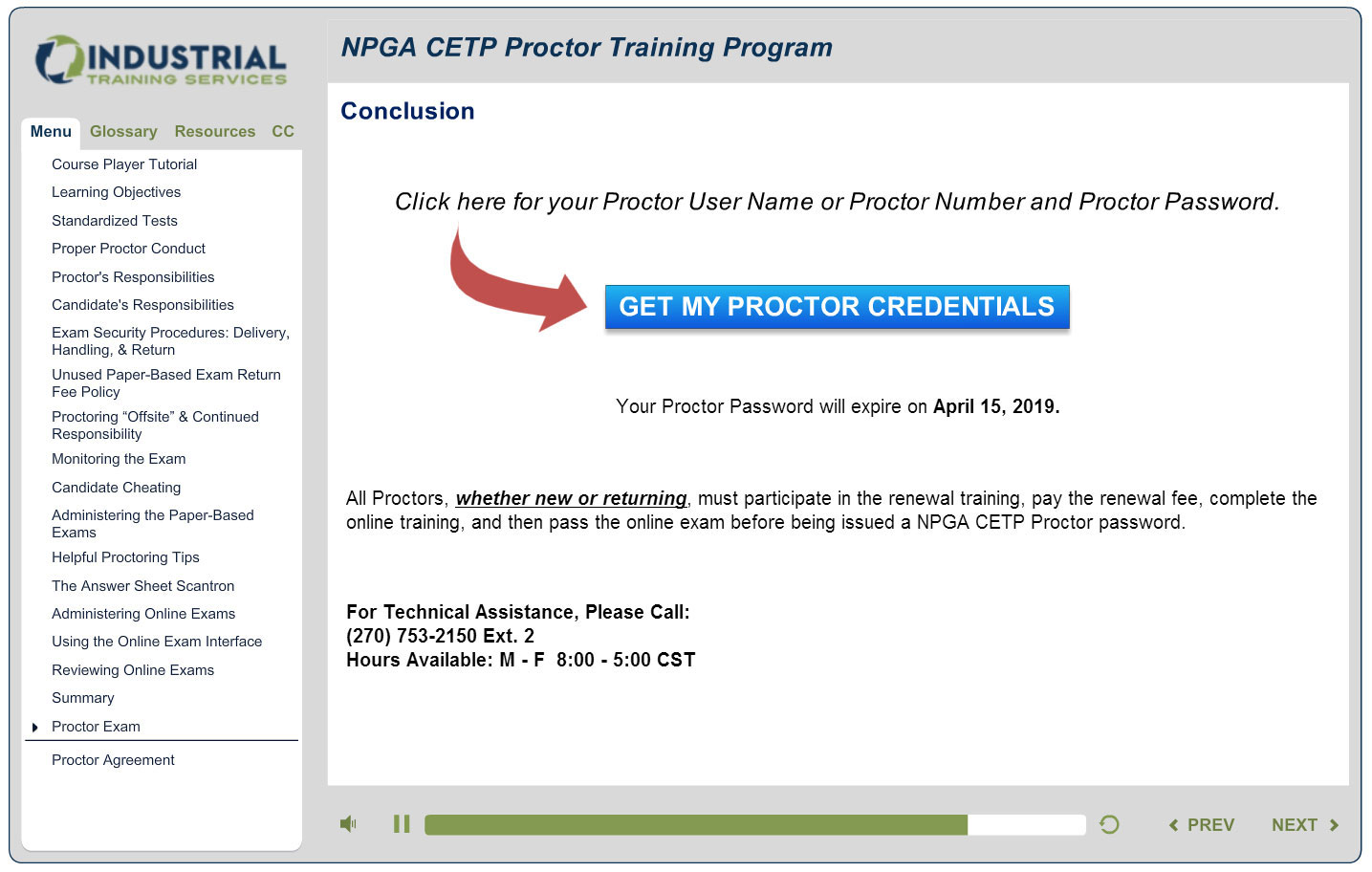 2016 Npga Cetp Proctor Renewalsignup Instructions